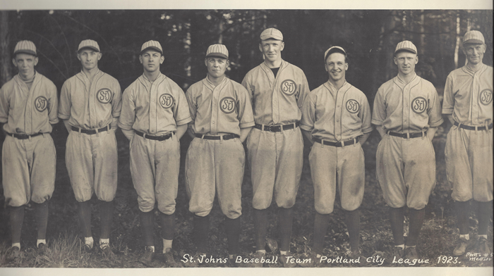 1923 St Johns Baseball Team
