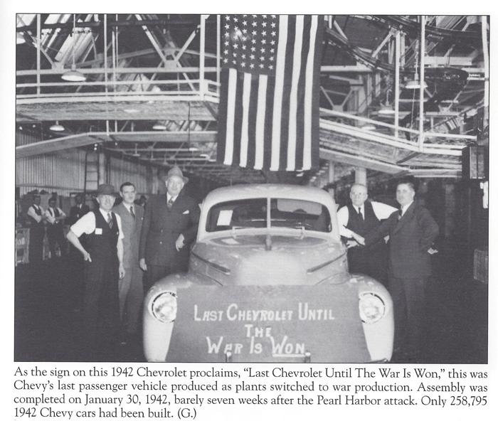 1942 Chevrolet Last