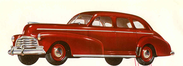 1946 Chevrolet Sport Sedan