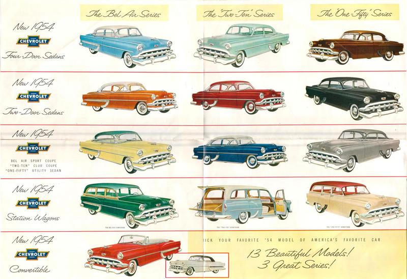 1954 Brochure