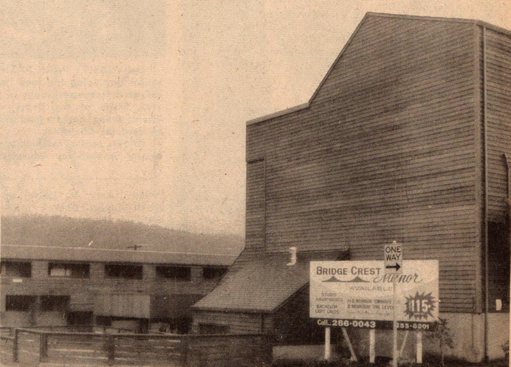 Bridge Crest Manor Apts. 7010 N Alta site of old James John High School opened Dec 1971 jpg (1)