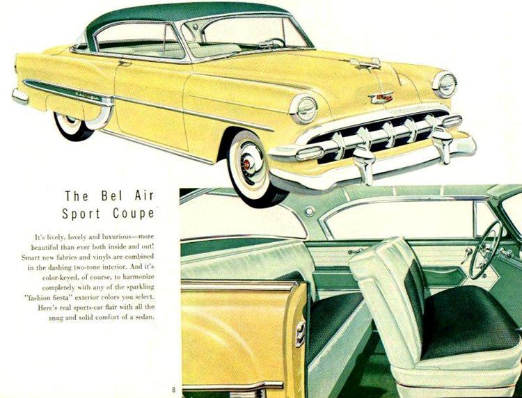 Chevrolet 1954 b
