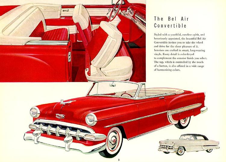 Chevrolet 1954 c