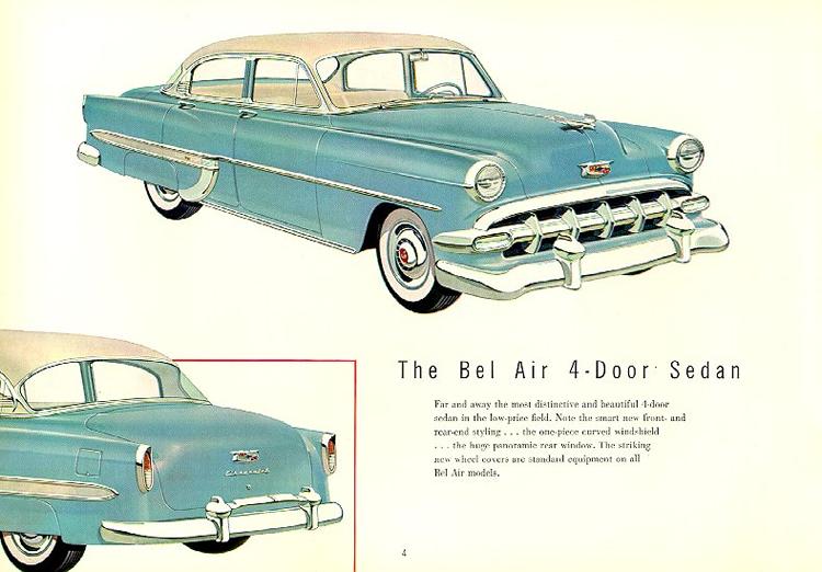 Chevrolet 1954 d