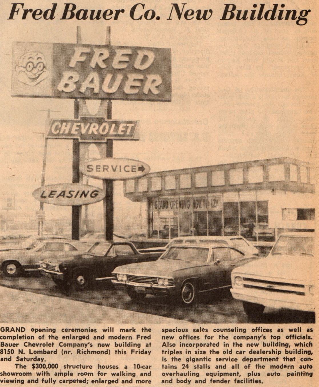 fred-bauer-8150-n-lombard-new-store-nov-1966-01