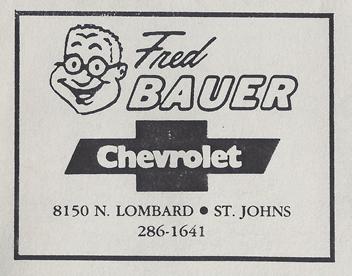 Fred Bauer Address