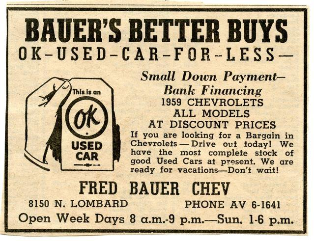 Fred Bauer Used