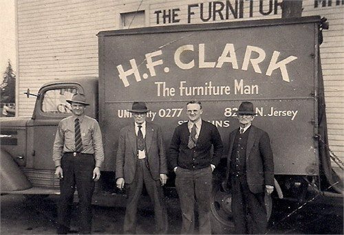 H F Clark Delivery Truck