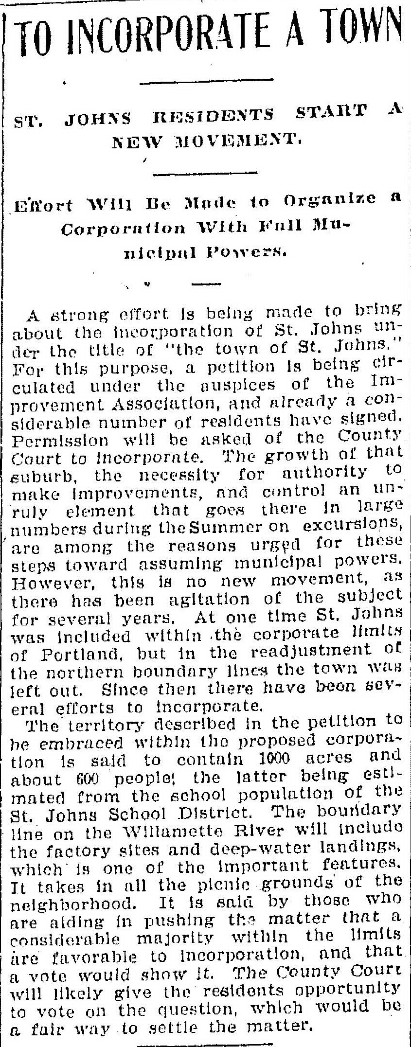 March 27, 1902 St Johns incorporation crop