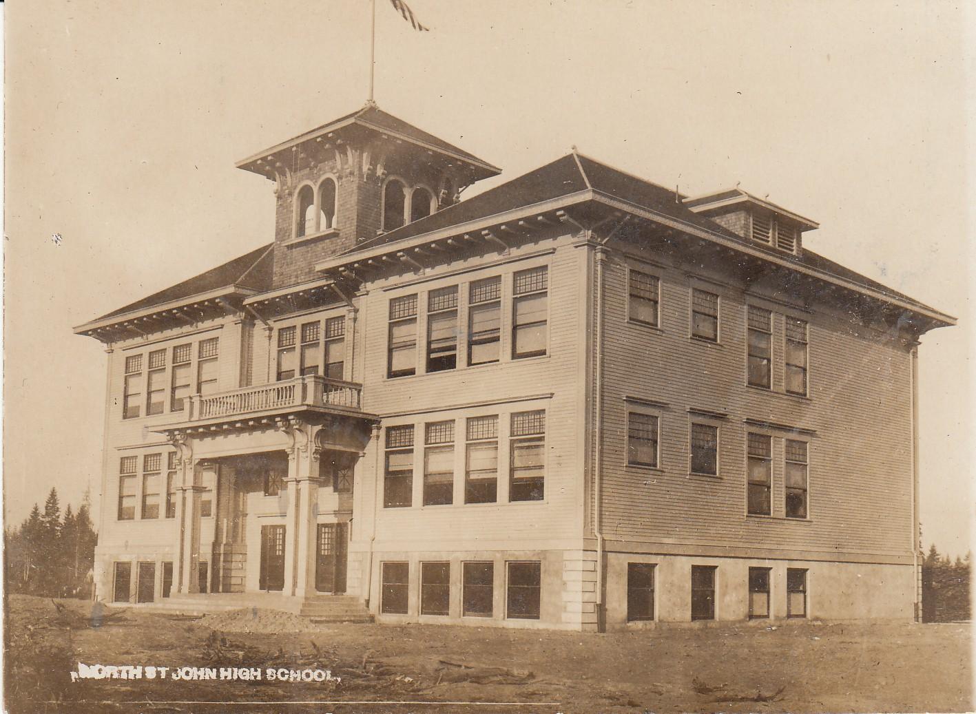 1907  New North school (Sitton)