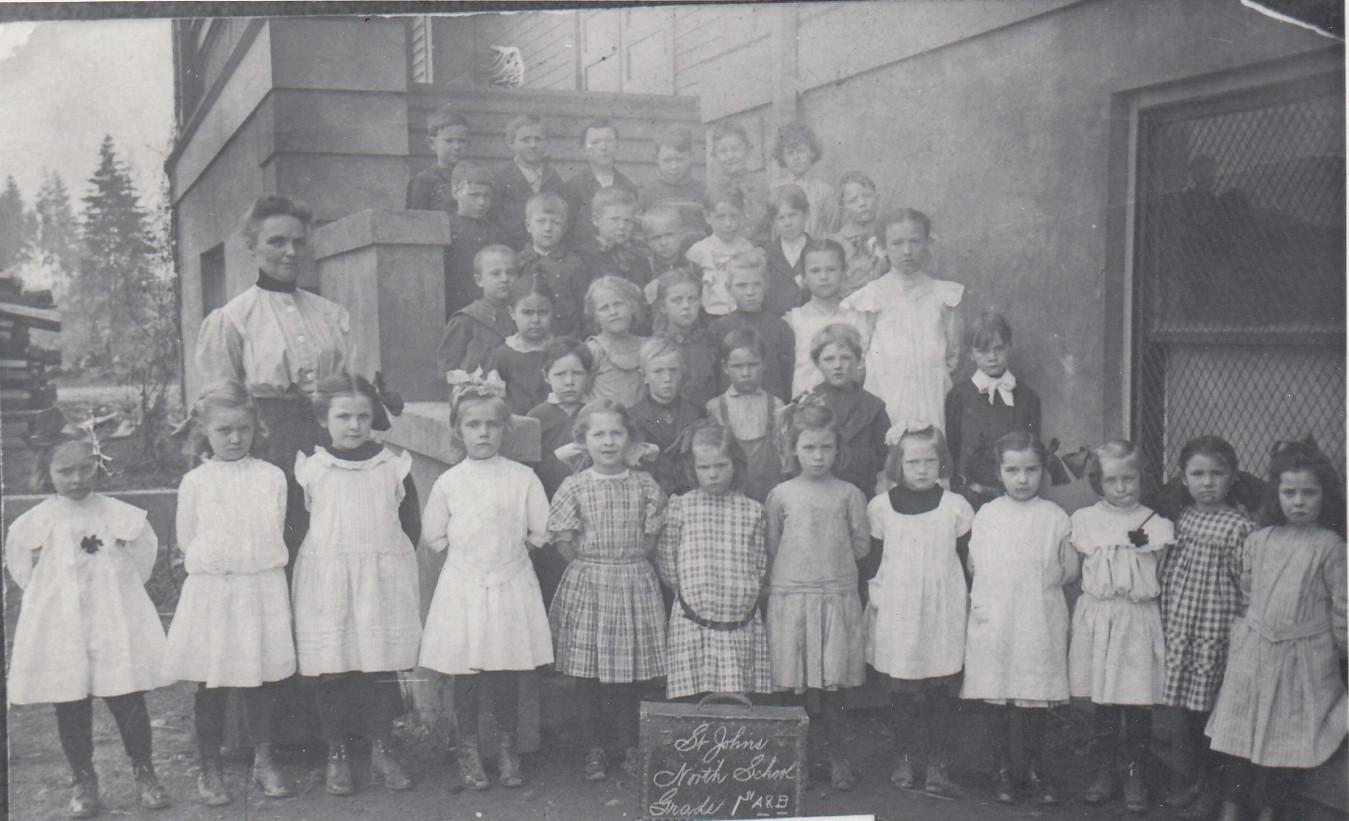 1907 North School (Sitton) students