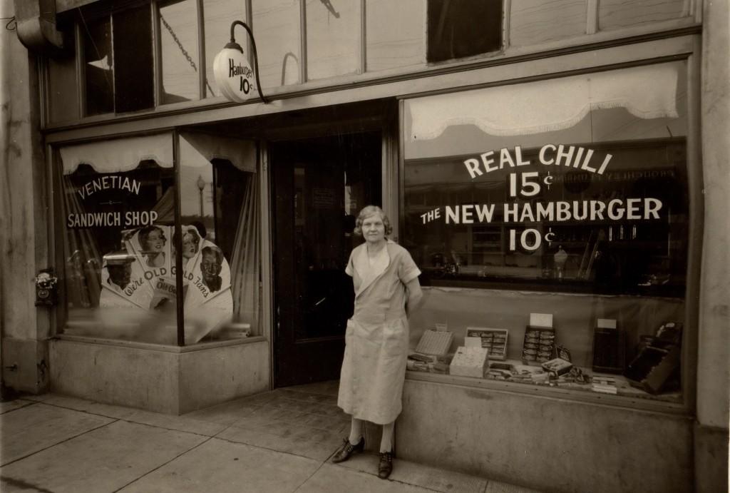Mary Luella Harney Hoes Circa 1930
