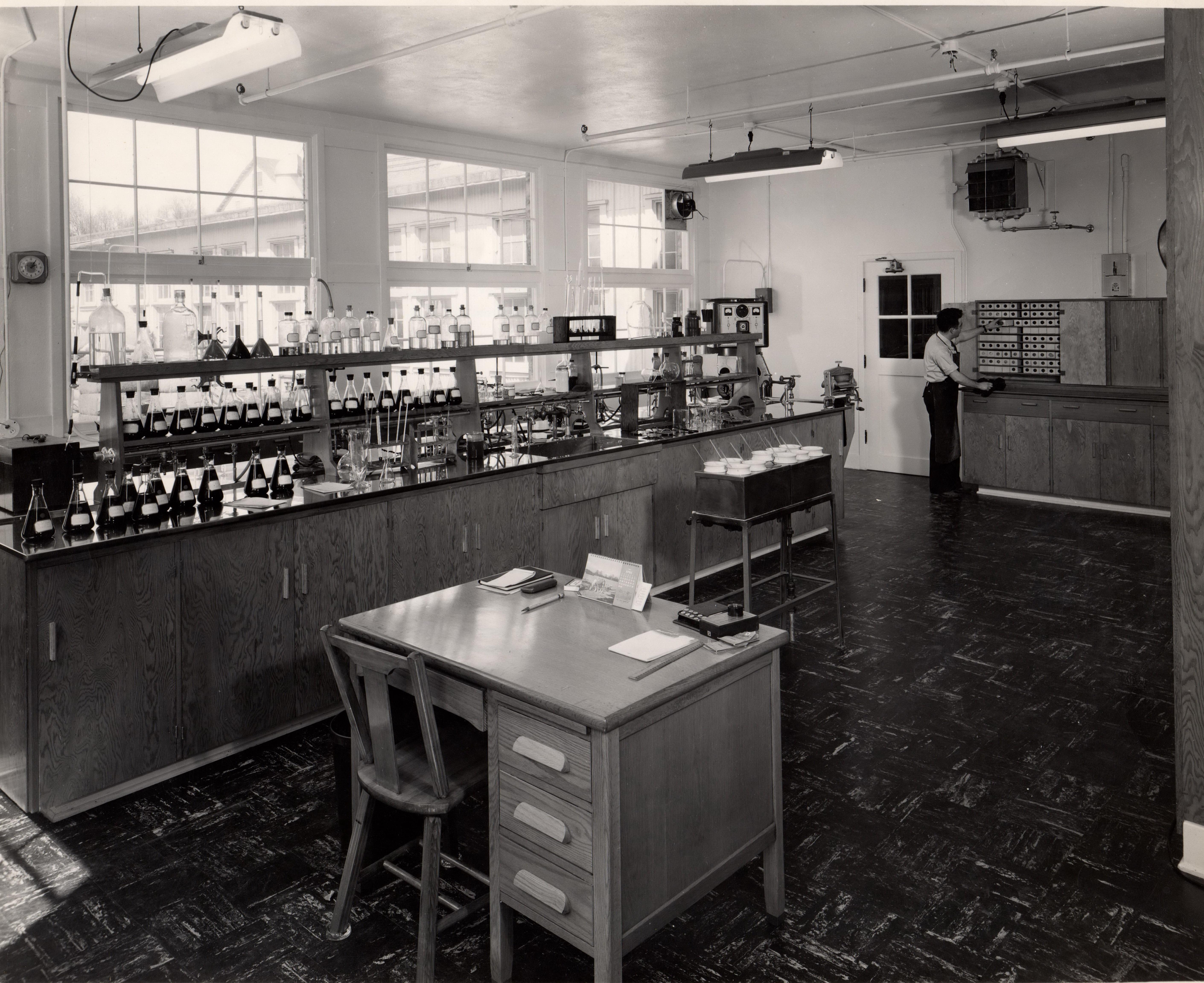 Portland Woolen Mills Dye Laboratory