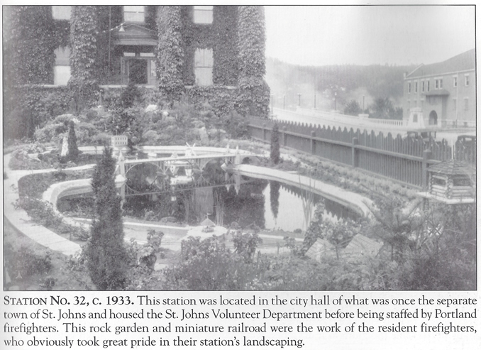 St. Johns Fire Dept. Pond