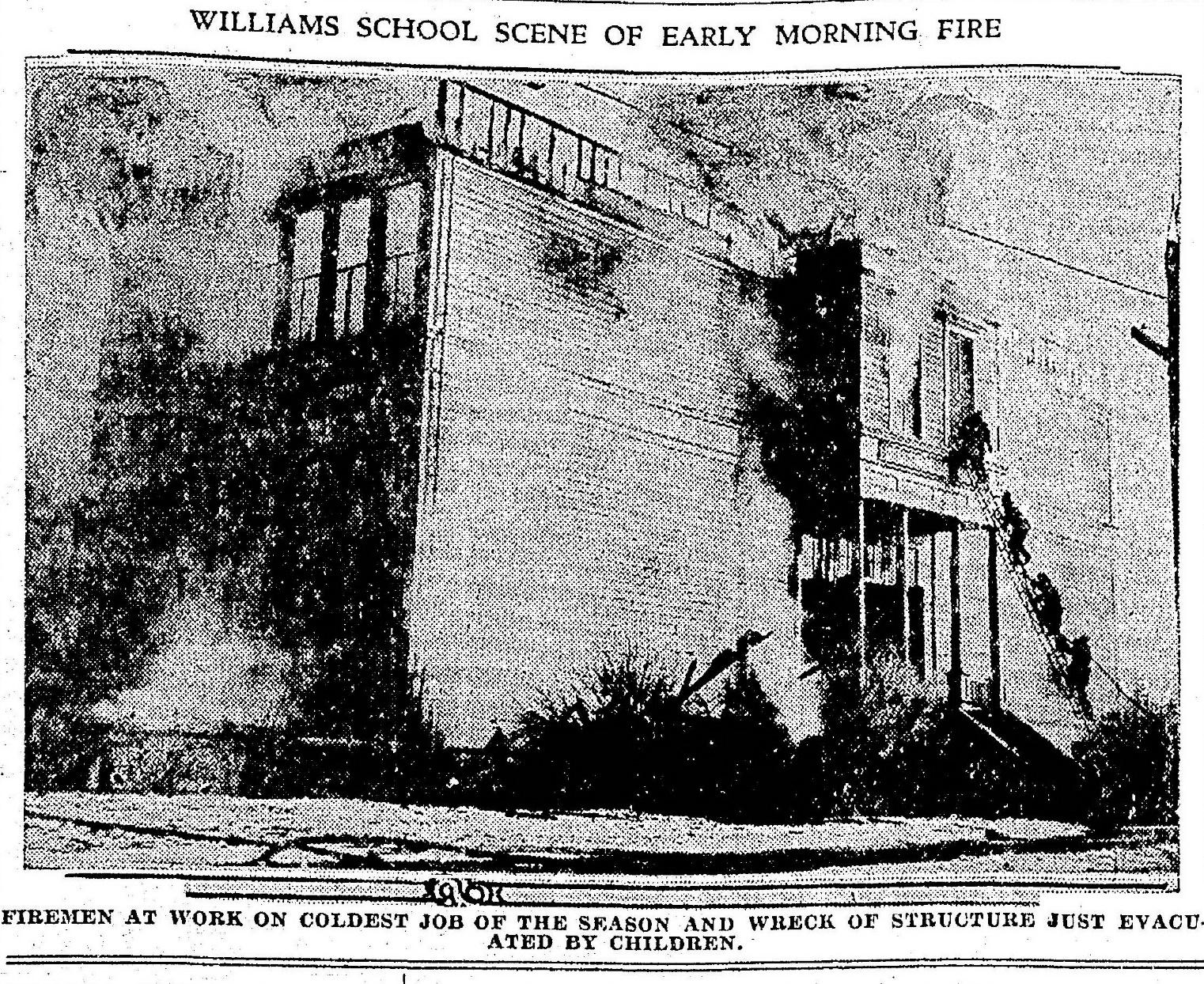 Willams- Central school fire Jan 13 1930 (2)
