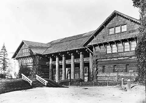 Forestry Building, Lewis and Clark Exposition, 1905.