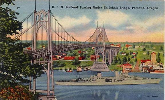 Bridge Postcard 1940