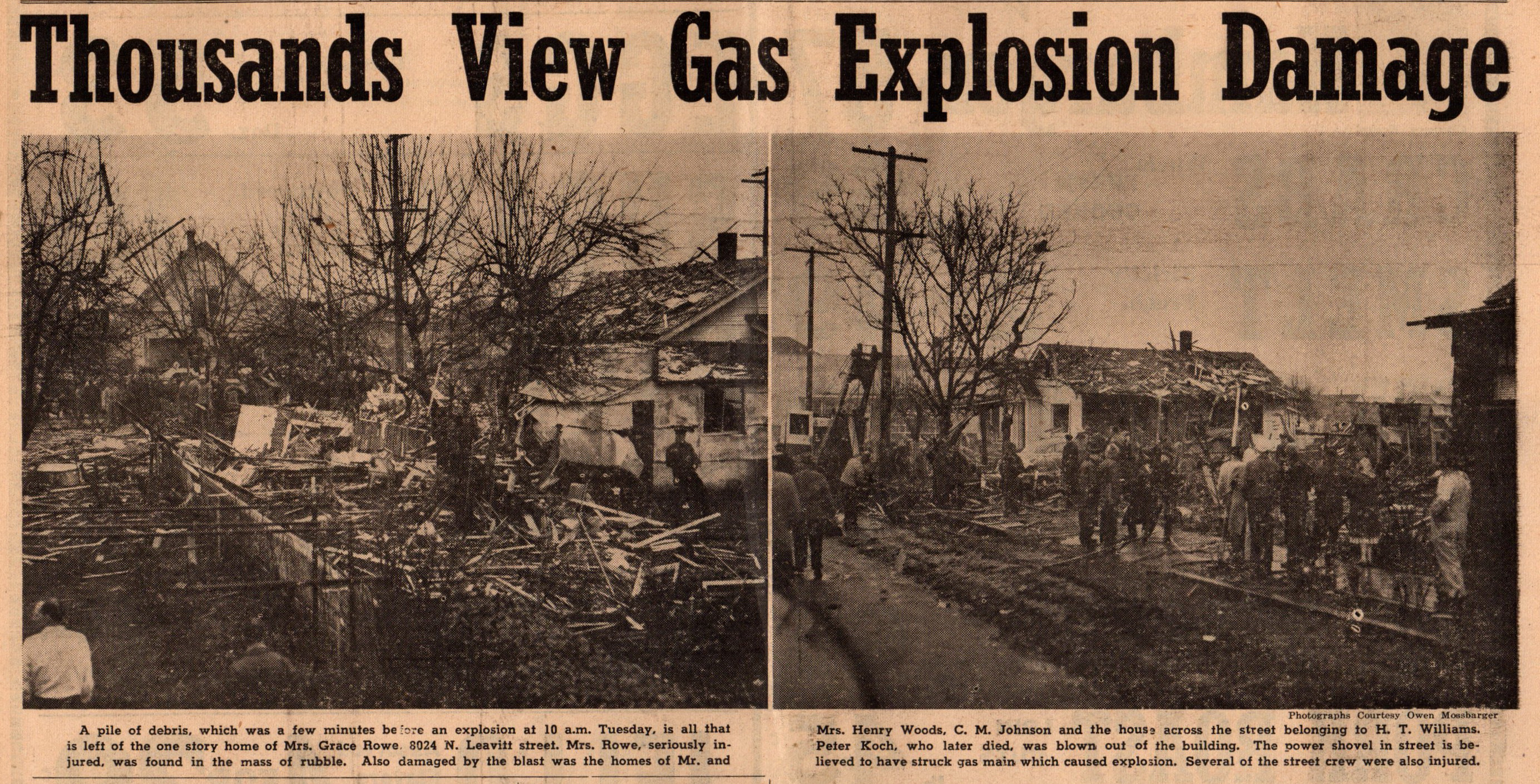 Feb 6 1951 Gas Explosion at 8024 N Leavitt and Central (1)