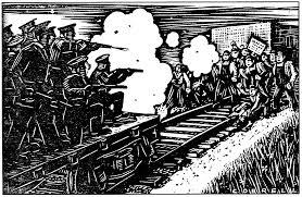 1934 Strike Drawing