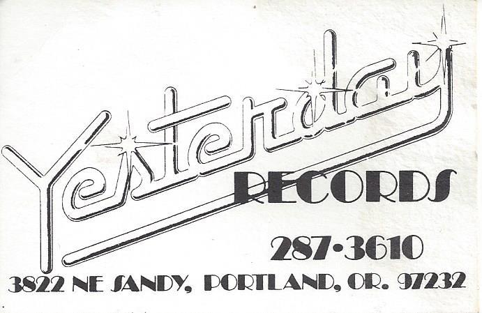 Yesterday Records